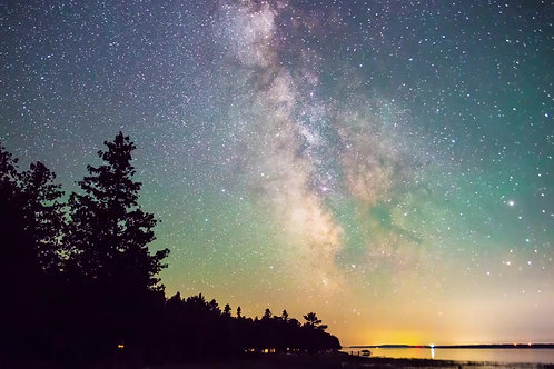 Pure Michigan Milkyway | Stock | 4k