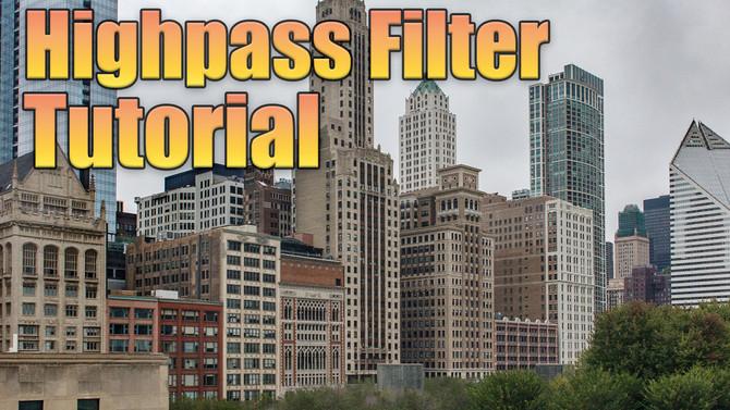 Sharper photos using a High pass Filter: PS Tutorial