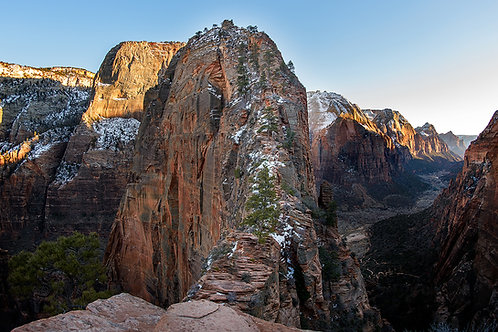 Angels Landing lookout | Stock | Royalty Free