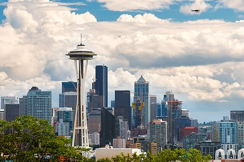 Seattle Skyline | Stock | Royalty Free