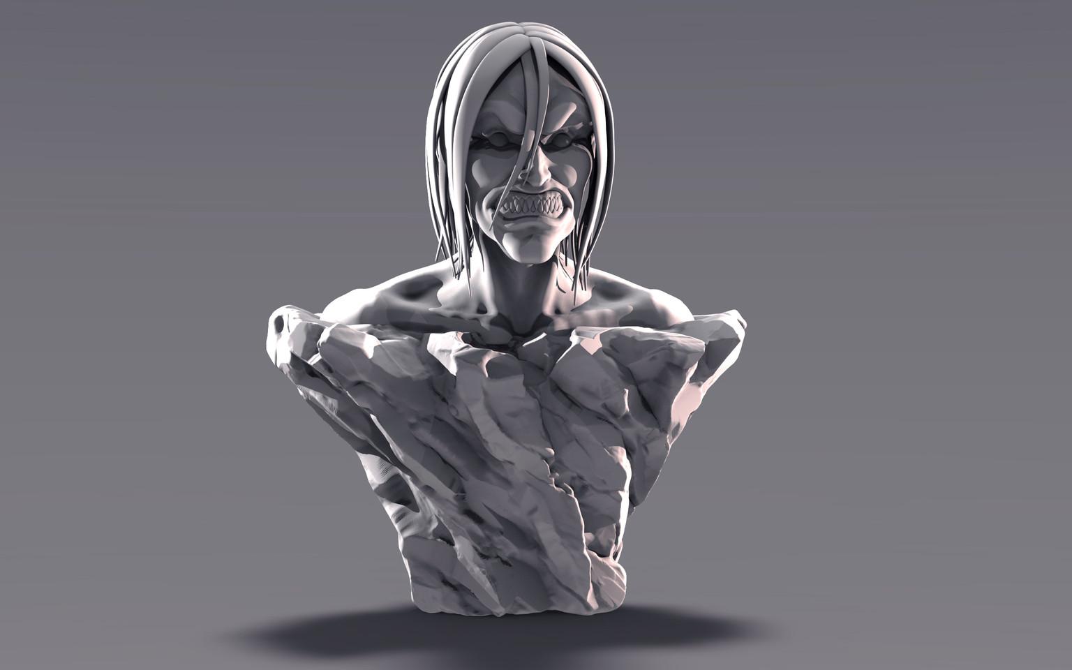 Jaw Titan Bust (Ymir)