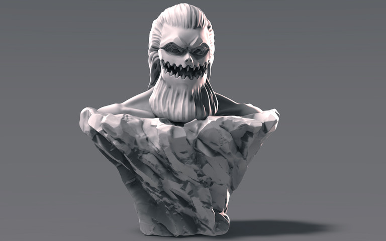 Jaw Titan Bust (Porco)