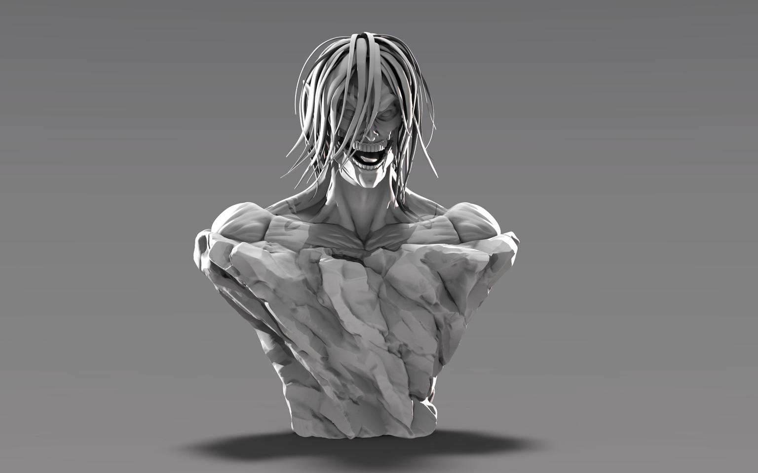 Mysterious Titan Bust