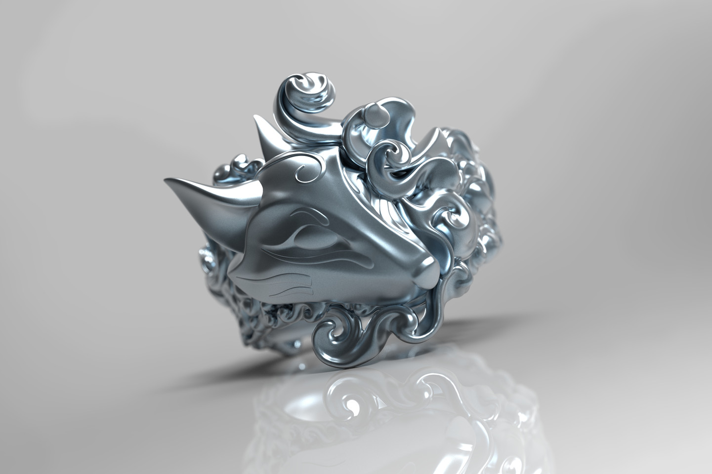 'Kitsune' Ring Design