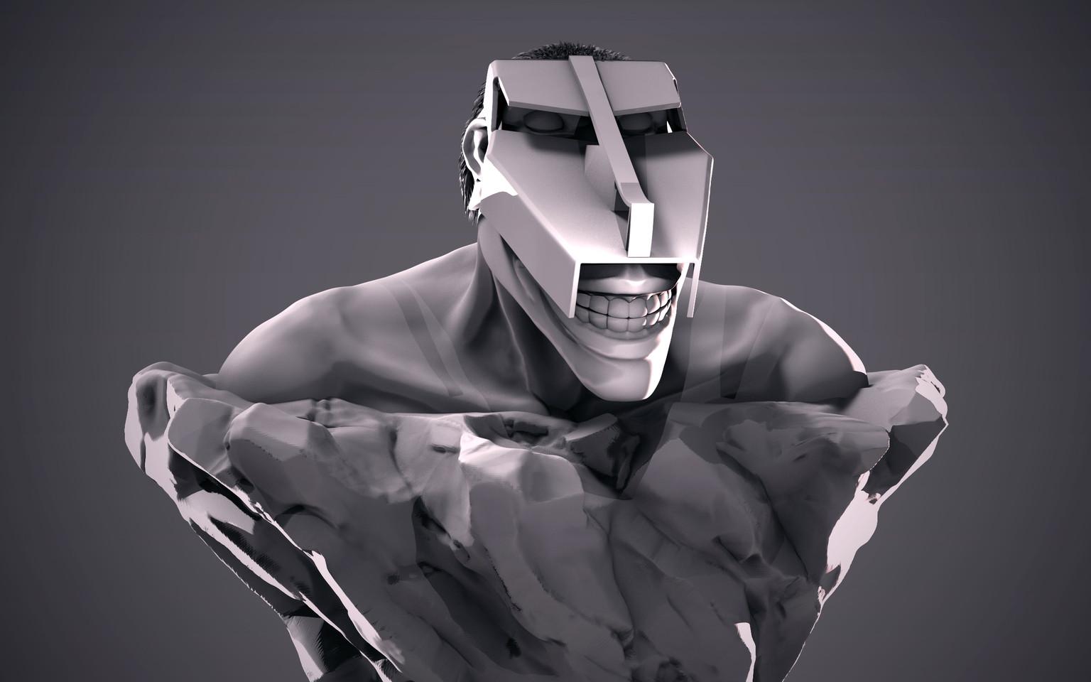 Cart Titan Bust