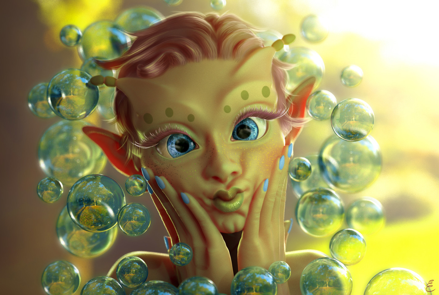 Bubbles the Faery