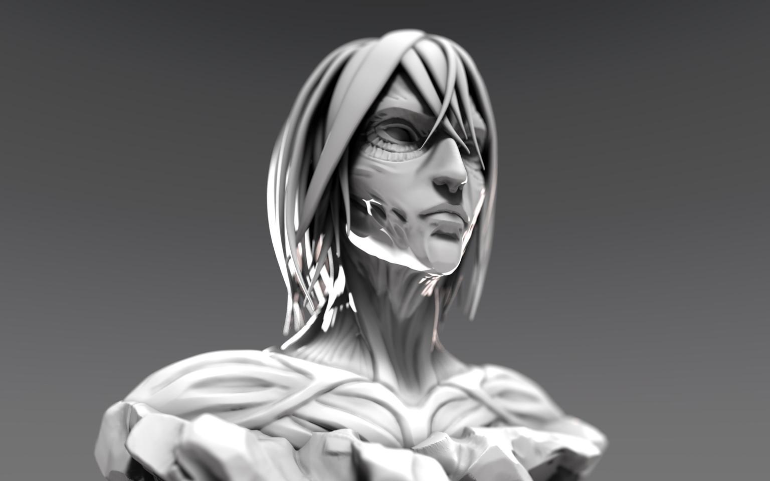 Female Titan Bust