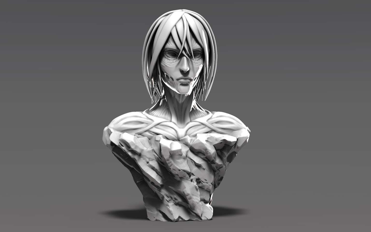Female Titan Bust
