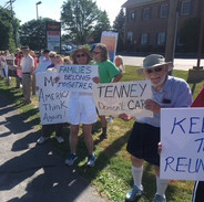 Protest at Tenney's Office in Utica.jpg