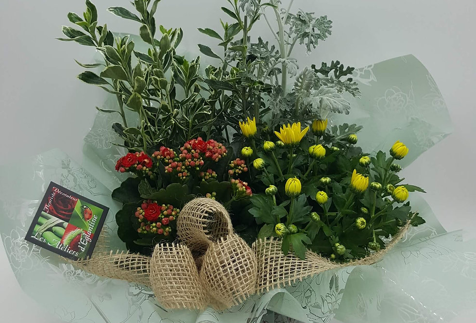 Coupe de plantes Deuil 30cm