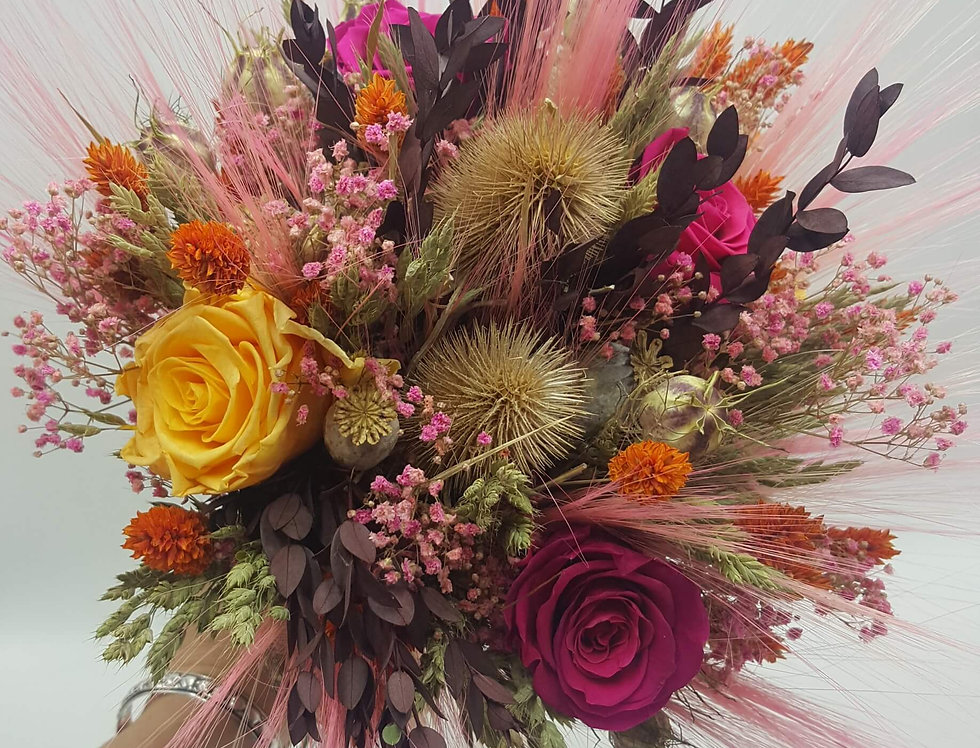 Bouquet Capucine  -  Stabilisé