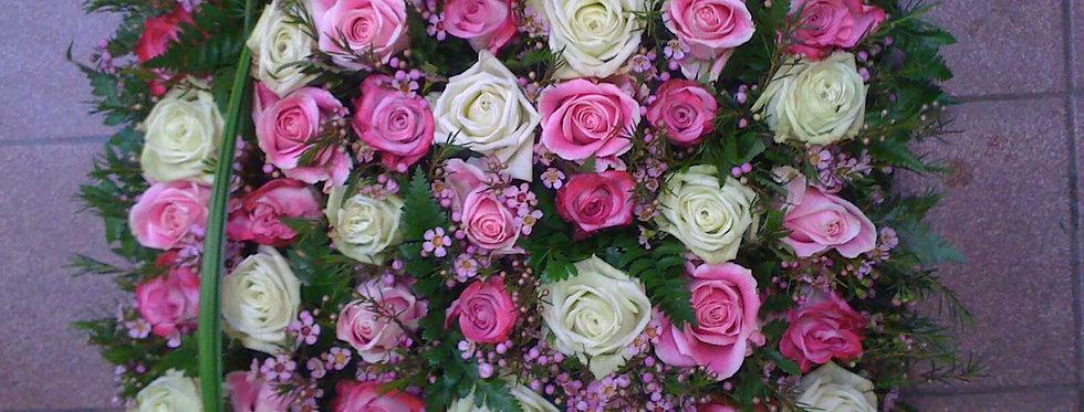 Coussin carré de Roses