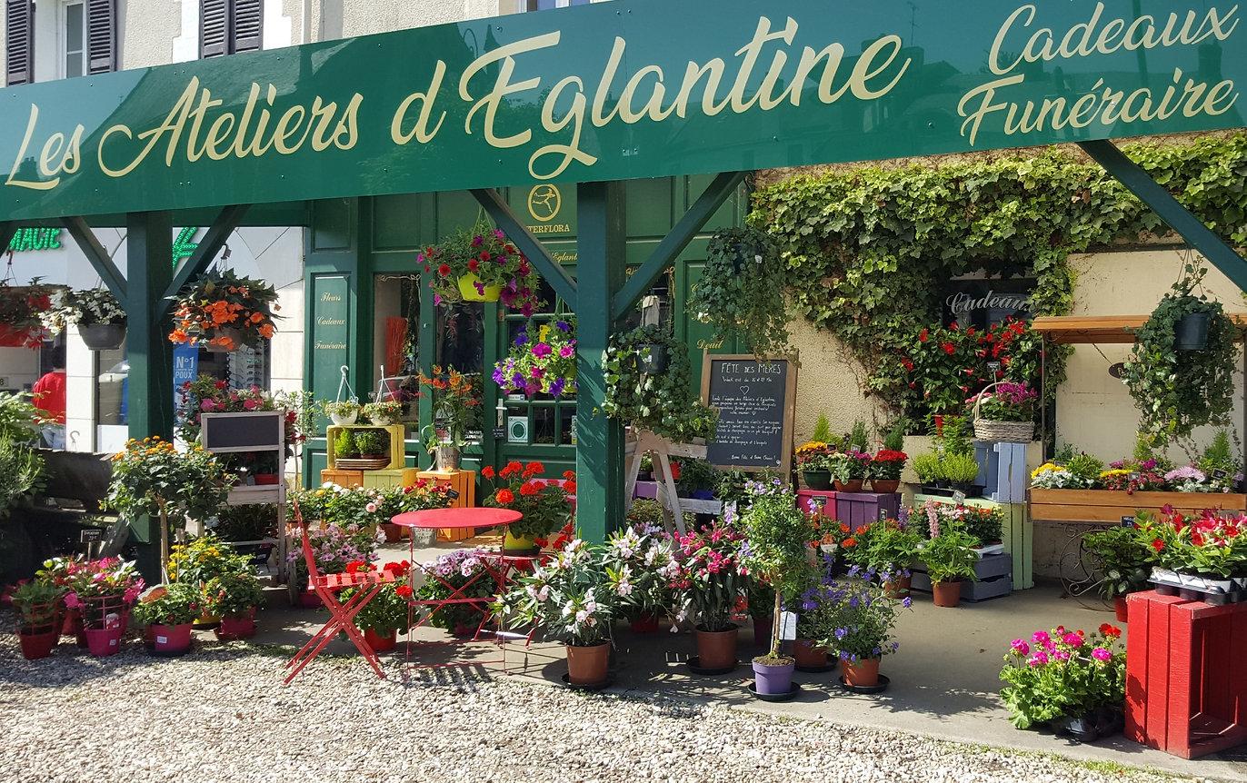 LES ATELIERS D'EGLANTINE - Fleuriste à Eguzon Chantôme (Indre 36)