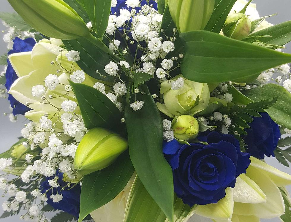 """Bouquet """"Grand Bleu"""""""