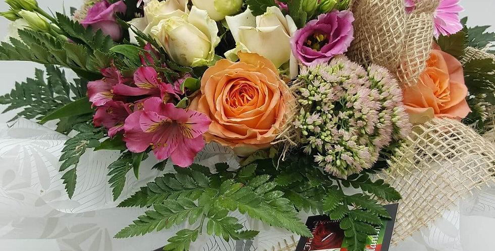 Bouquet rose / saumon