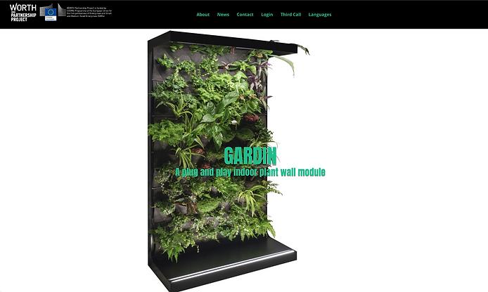 GARDIN függőleges kert