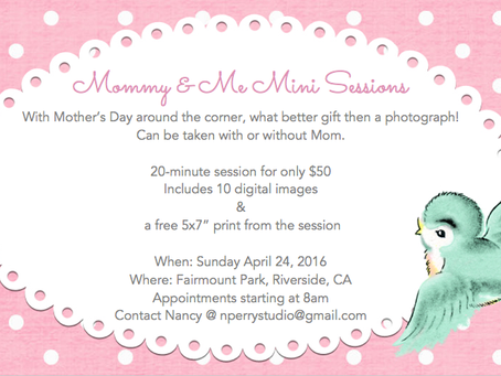 2nd Mommy & Me Mini Session