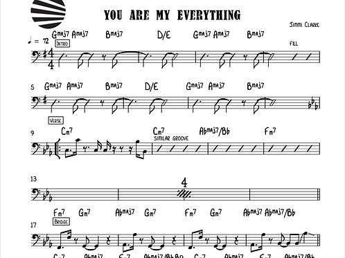 YOU ARE MY EVERYTHING - CHORD CHART