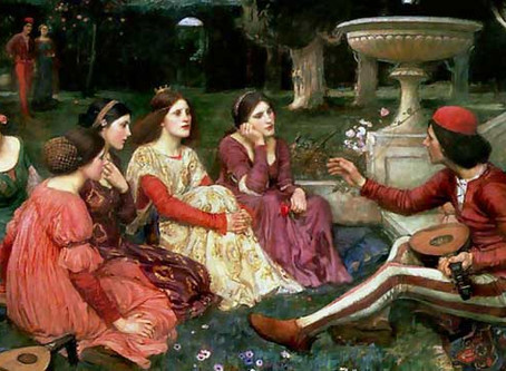 Corona Virus Advice from Giovanni Boccaccio: Tell or Listen to Stories to Stay Sane