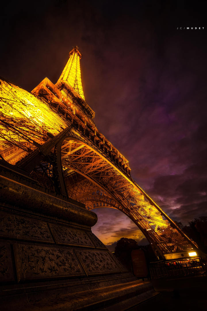 How many steps the Eiffel Tower ?