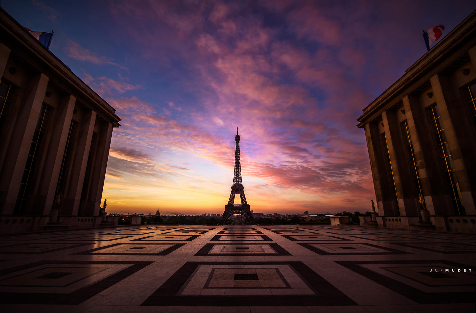 Alone with the Eiffel Tower