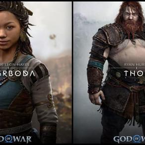 God of war: Ragnarok. Thor grasso e Angrboda di colore: scoppiano polemiche razziste e body shaming