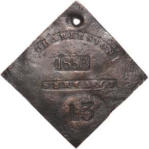 Il badge dello schiavo