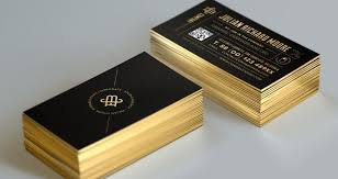 Foil Printing Business Card
