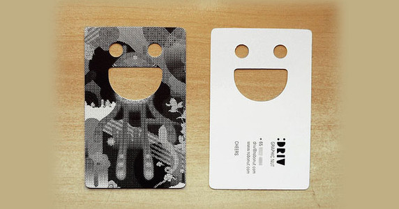 Die/Laser Cut Business Card