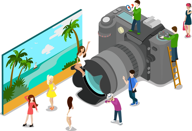 All photography elements contain in one picture that show MRMS provide great photography services in photography portfolio page