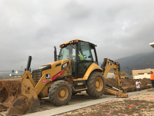 Our New CAT 420F Backhoe: A Trench Digging Beast