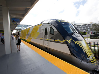 Testing for High Speed Train from Victor Valley to Las Vegas