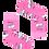 Thumbnail: Kabak TOFU różowe