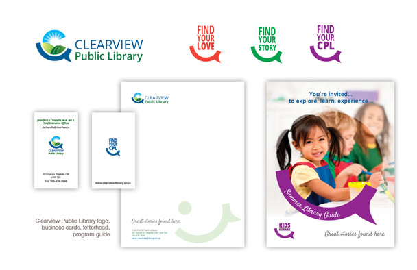 Clearview Public Library reveals new brand, logo