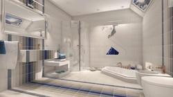 Łazienka w pasy