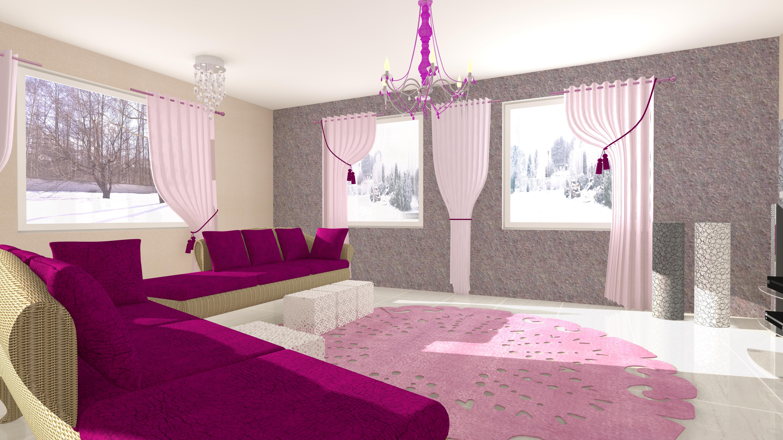 Salon w stylu Glamour