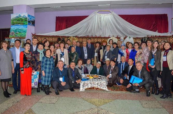 Участники Первого конгресса казахов Омск