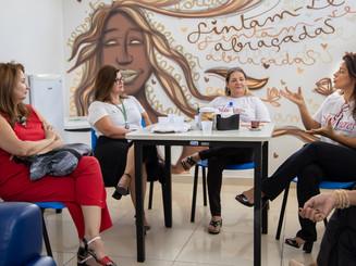 Visita ao Sony Santos - Projeto Bolsa de Mulher