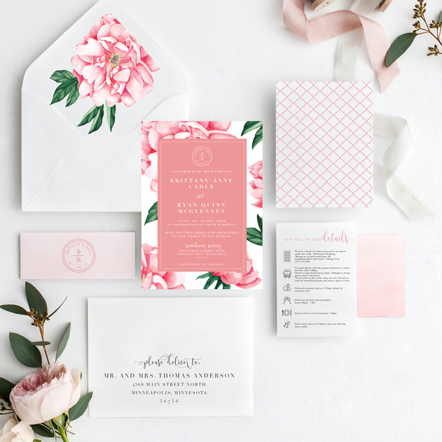 Pink Peony Suite