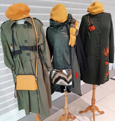 Bavlněný kabát