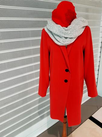 Kabát červený