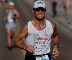 Bill Carlson--1st T1D Triathlete