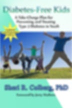 Diabetes Free Kids book cover FINAL SMAL