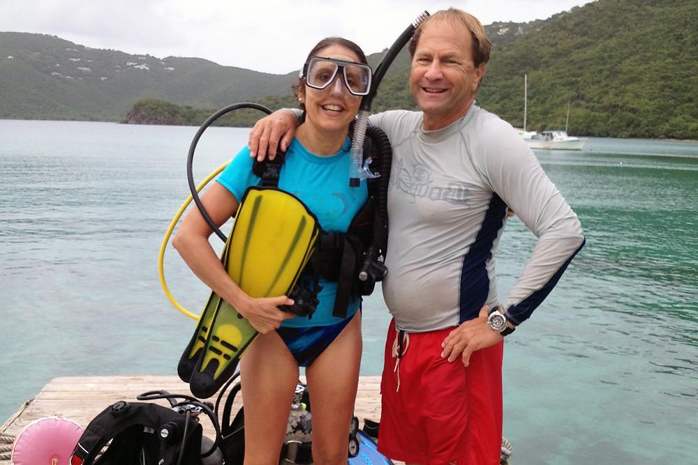 Sheri with Steve Prosterman