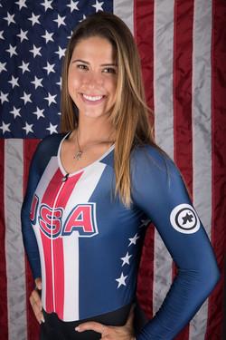 Mandy Marquardt-Team USA cyclist
