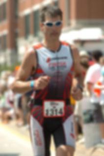Jay Hewitt Rhode Island Ironman (running