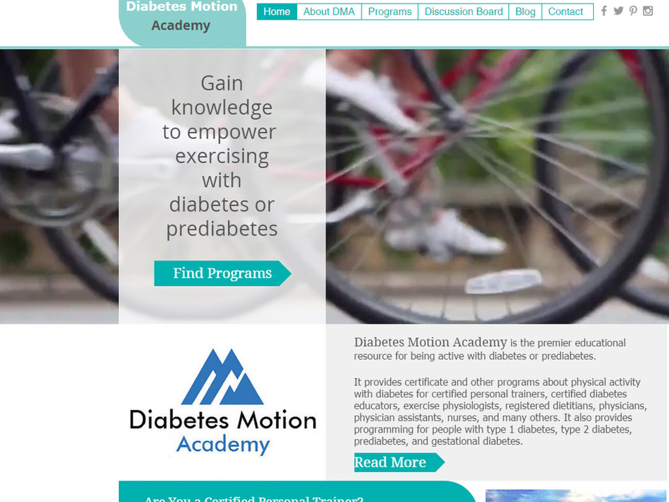 Fitness Resources from Diabetes Motion Academy