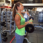 Christel Oerum lifting weights.jpg