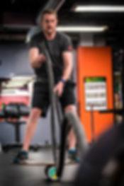Charlie Kimball workout (Chris Bucher Ph