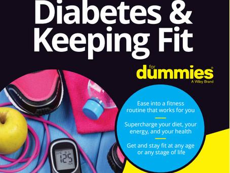 New Book on Keeping Fit with Diabetes!